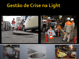 Crise da Light- Explosões em Bueiros