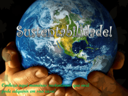 sustentabilidade power point