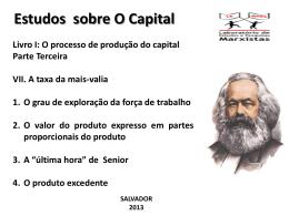 Estudos O Capital