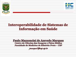 Interoperabilidade de Sistemas de Informação em Saúde