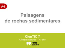 paisagens sedimentares - Ciências Naturais CNSF