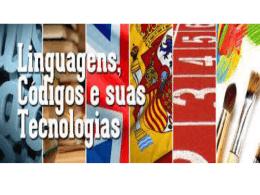 Área das Linguagens, Códigos e suas Tecnologias