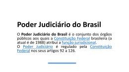 Poder Judiciário do Brasil