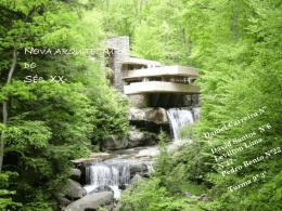 Nova arquitectura do Séc. XX