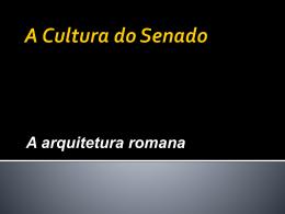 APP HCA – A Cultura do Senado