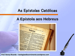 As Epístolas Católicas