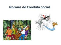 Normas de conduta social (1,5 MB