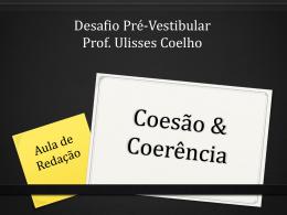 Coesão - Coerência - Entre palavras e acordes