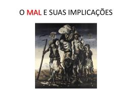 A Origem do Mal – slides