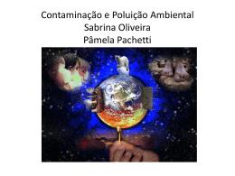 Contaminação e Poluição Ambiental