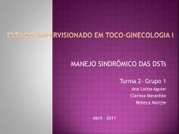 ESTÁGIO SUPERVISIONADO EM TOCO- GINECOLOGIA