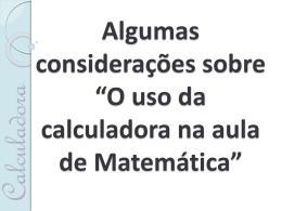 slides calculadora
