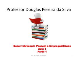 Material para avaliação DPE Professor Douglas Pereira da Silva