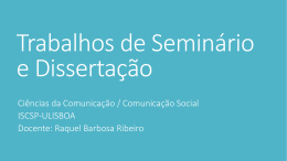 Apontamentos das aulas - Marketing, Comunicação e Consumo
