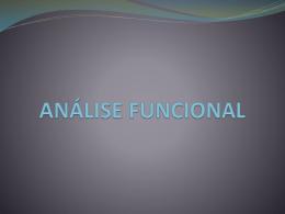 1 Analise FUNCIONAL