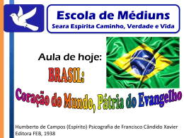21º Aula Brasil coração do mundo pátria do