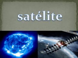 Estrutura básica de comunicação via satélite