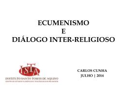 Ecumenismo e diálogo inter