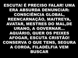 Grito de Alerta – Celina Borges