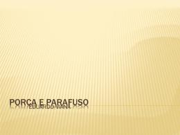 PORCA E PARAFUSO