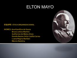 Elton Mayo.