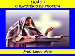 2T_2014_Lição 7_O Ministério de Profeta