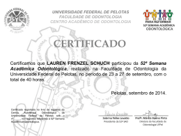 PARTICIPACAO LAUREN FRENZEL