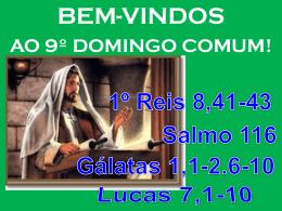 Lucas 7,1-10 - Comunidades.net