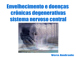 2014 SENESCENCIA Envelhecimento do SNC