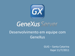 Team Development GXserver