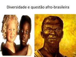 Diversidade e questão afro