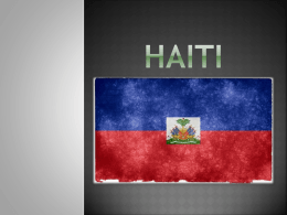 HAITI - WordPress.com