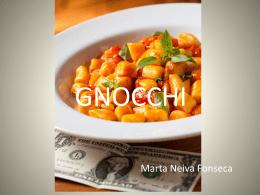 Gnocchi avaliação powerpoint