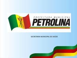 Linha de Cuidado de Urgência e Emergência de Petrolina