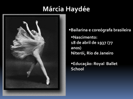 Márcia Haydée - WordPress.com