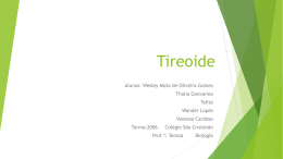Tireoide - WordPress.com