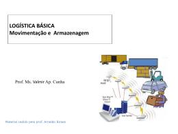 logística básica MOV_ARMAZ. UNIP