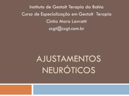 ajustamentos neuróticos