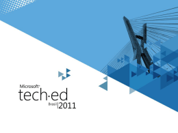 Arquitetura de Referência na Plataforma Microsoft e Windows Azure