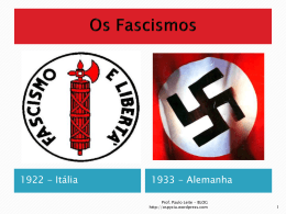 Os Fascismos - WordPress.com