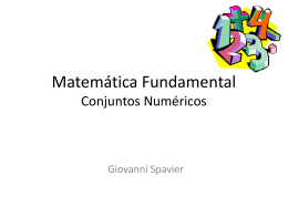 Matemática Fundamental