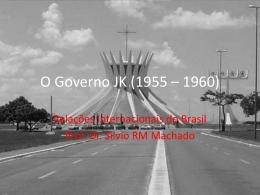O Governo JK (1955 * 1960)