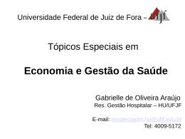 saúde - Universidade Federal de Juiz de Fora