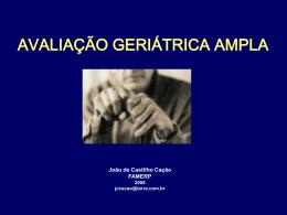 Avaliação Geriátrica Ampla (AGA