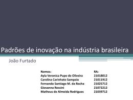 Seminario (slides) Padrões de Inovação na
