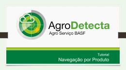 Parte 05 – Tutorial Agrodetecta – Navegacao por Produtos