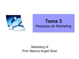 Pesquisa de Marketing v2010