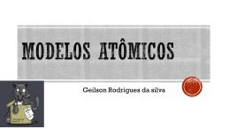 Modelos atômicos- Informática no ensino de