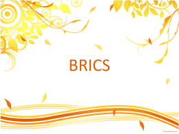 BRICS – Power Point