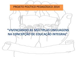 Projeto Pedagógico